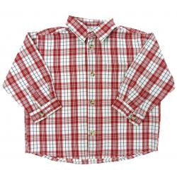 vertbaudet chemise à carreaux demi-saison garçon vêtement occasionenfant