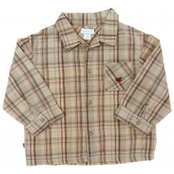 obaïbi chemise à carreaux vêtement occasion enfant