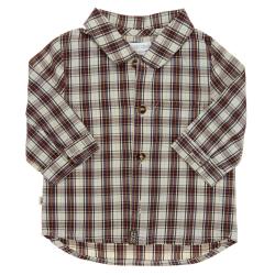 obaïbi chemise à carreaux demi-saison garçon vêtement occasion enfant