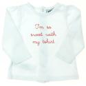 tape à l'oeil tee-shirt fill ehiver vêtement occasion bébé