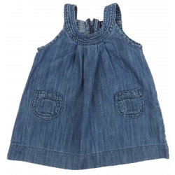 zara robe en jean été vêtement occasion bébé