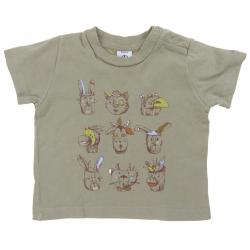 petit bateau tee-shirt garçon 6 mois