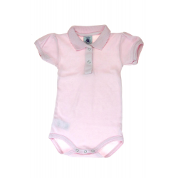 Petit Bateau body rose été fille vêtement occasion enfant