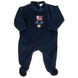 grain de blé pyjama garçon 1 mois