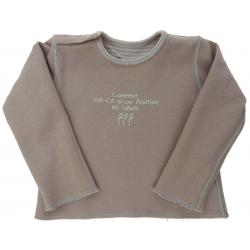 grain de blé tee-shirt garçon 6 mois