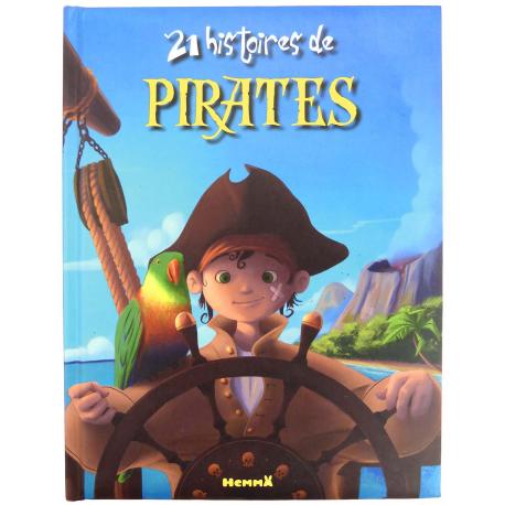 Livre 21 histoires de pirates