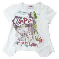 chipie tee-shirt fille 1 an