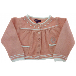 sergent major cardigan fille 6 mois