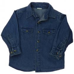 chemise en jean garçon 2 ans