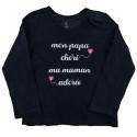 grain de blé tee-shirt fille 2 ans