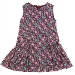 dpam robe doublée plissée été fille vêtement occasion enfant